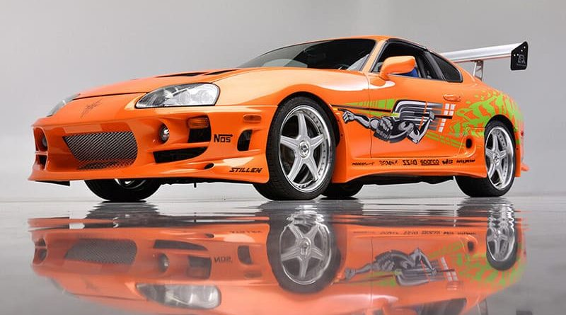 Toyota Supra naranja de Paul Walker