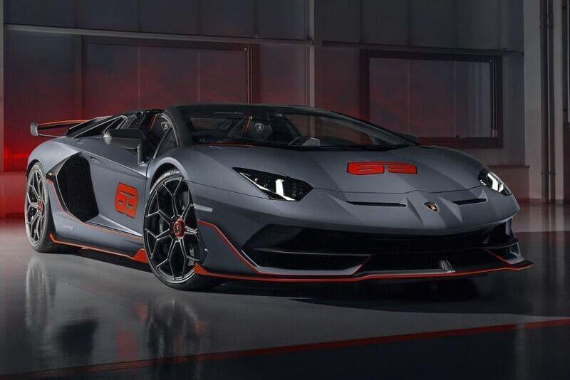 Lamborghini Aventador SVJ63