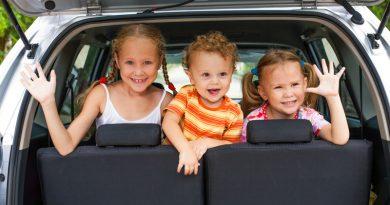 Consejos de la DGT para viajar con niños