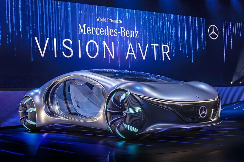 Mercedes Vision AVTR, conexión a través de los sentidos