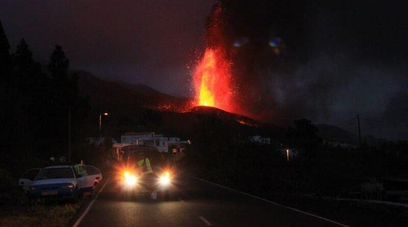 seguro del coche en una erupción volcánica