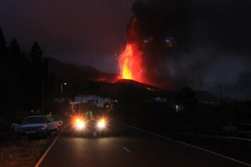 ¿Qué cubre el seguro del coche en una erupción volcánica?