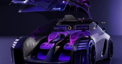 MG Maze, el concept car inspirado en el mundo gamer