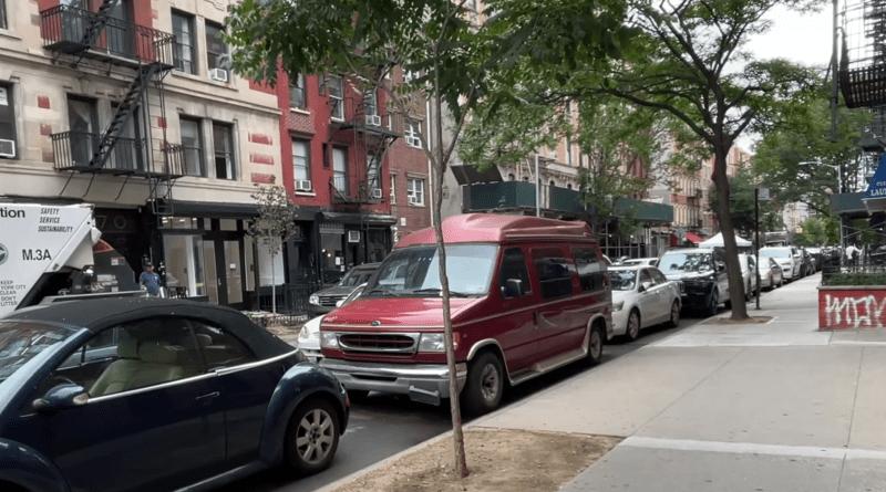 Utilizan furgonetas como Airbnb en Nueva York